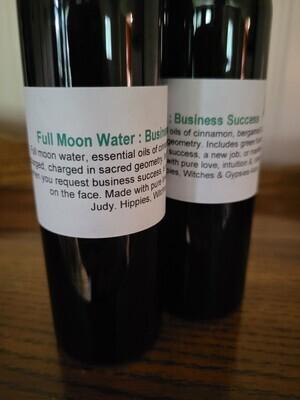 Moon Water Business Success 4 ozs (black bottle)