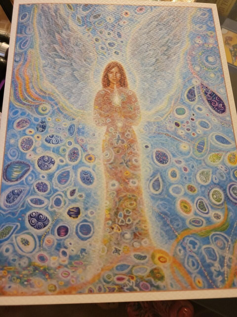 Journal Paper -Angel theme-Beautiful Artwork & Inspirations
