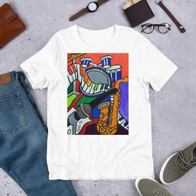 Music Vibes Short-Sleeve Unisex T-Shirt