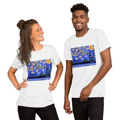 Memphis Nights Short-Sleeve Unisex T-Shirt