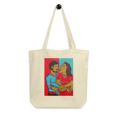 Lovers Embrace Eco Tote Bag