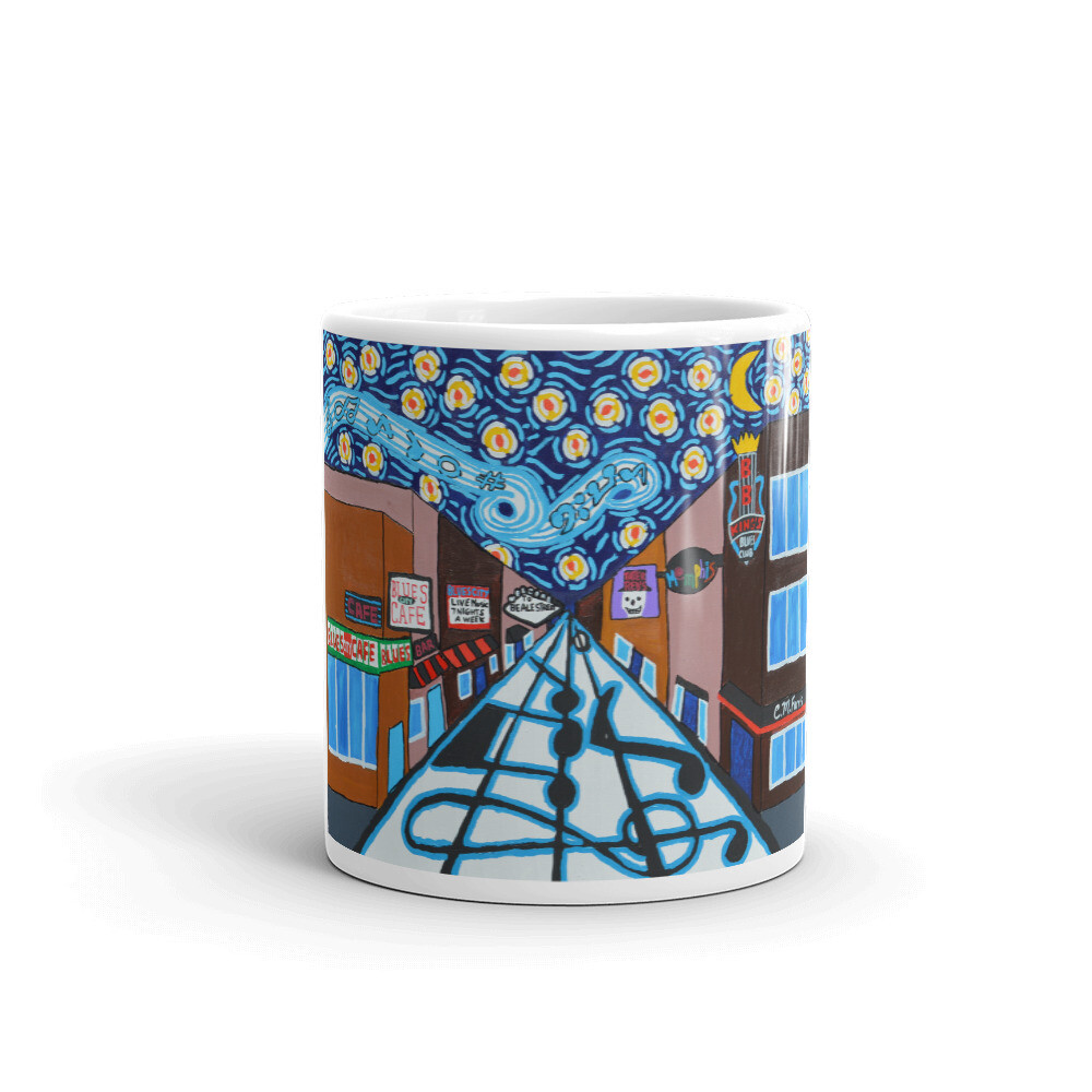 Memphis Nights on Beale Street Mug