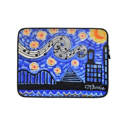 Memphis Nights Laptop Sleeve
