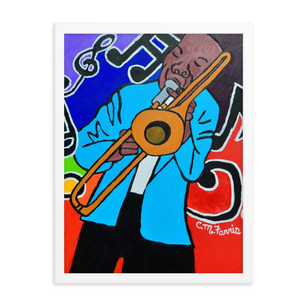 Jazz It Up 18X24 Framed Print