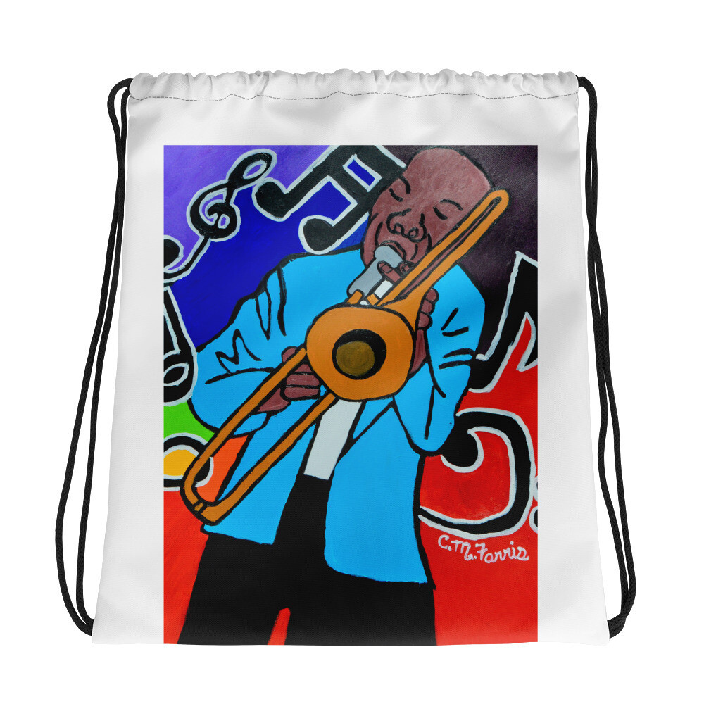 Jazz It Up Drawstring Bag