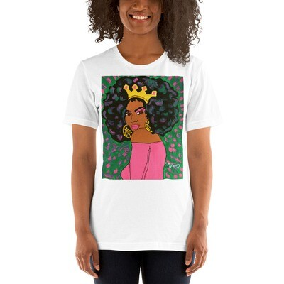Black Queen Short-Sleeve Unisex T-Shirt