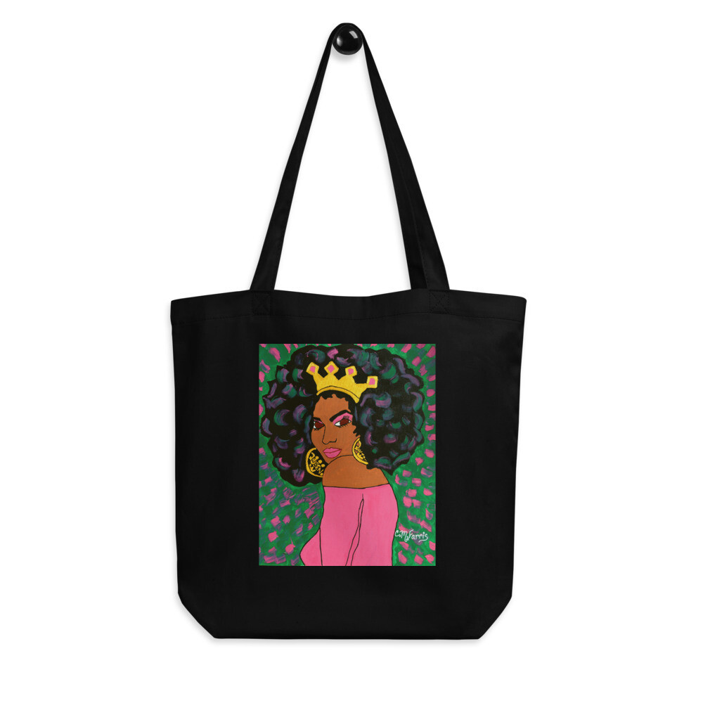Black Queen Eco Tote Bag
