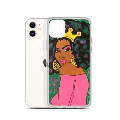 Black Queen iPhone Case