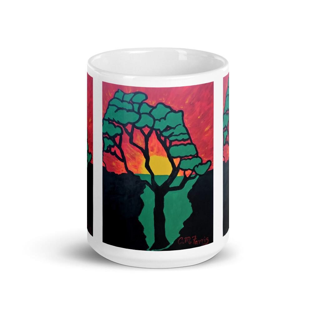 African Sunset Mug