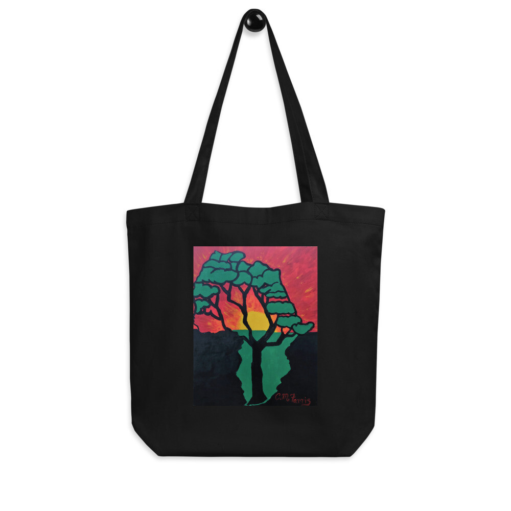 African Sunset Eco Tote Bag