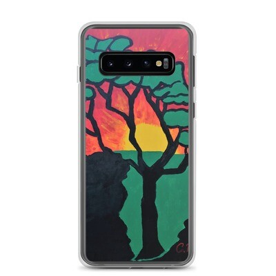 African Sunset Samsung Case