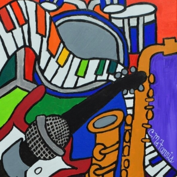 Music Vibes Painting