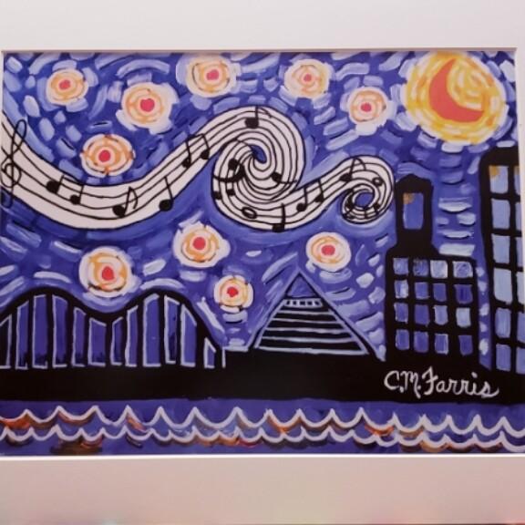 Memphis Nights Print