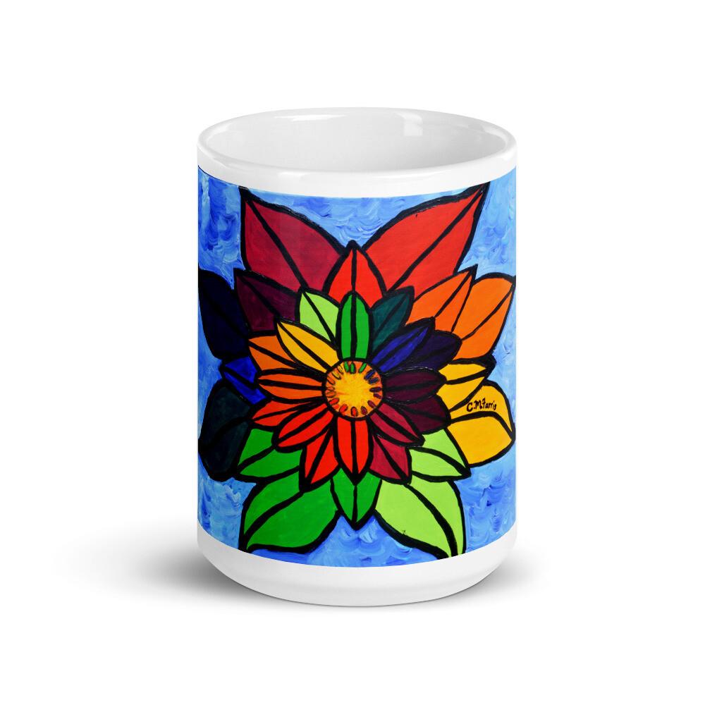 Rainbow Lotus 2 Mug