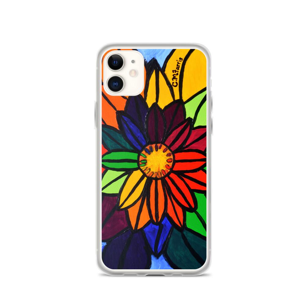 Rainbow Lotus 2 iPhone Case