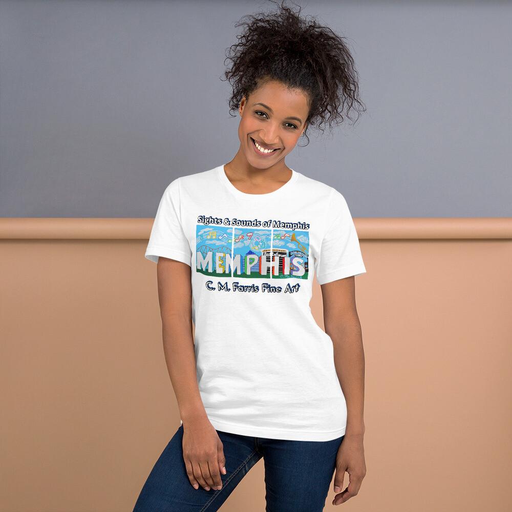 Sights & Sounds of Memphis Short-Sleeve Unisex T-Shirt