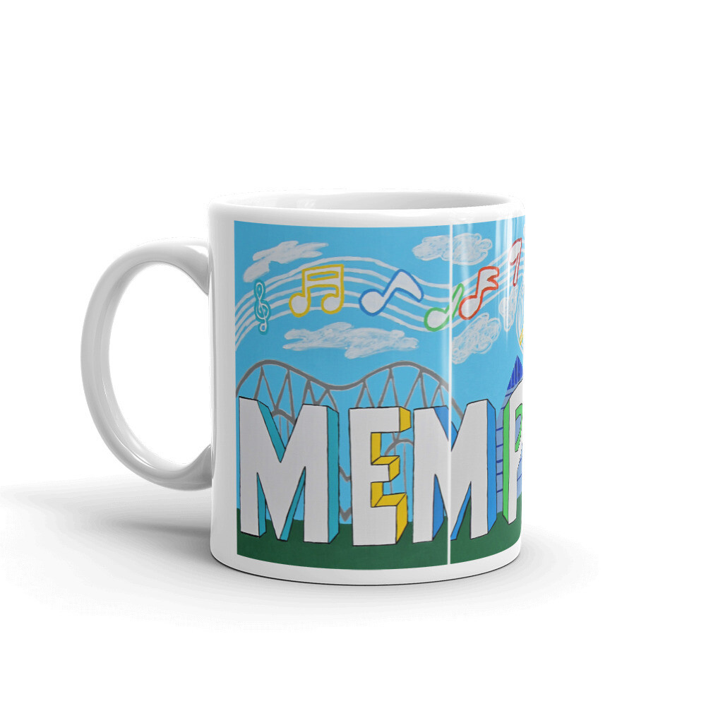 Sights & Sounds of Memphis Mug