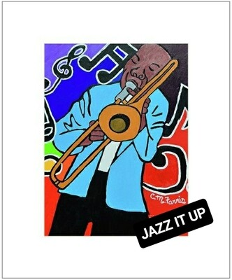 Jazz It Up Matted Print 14x18