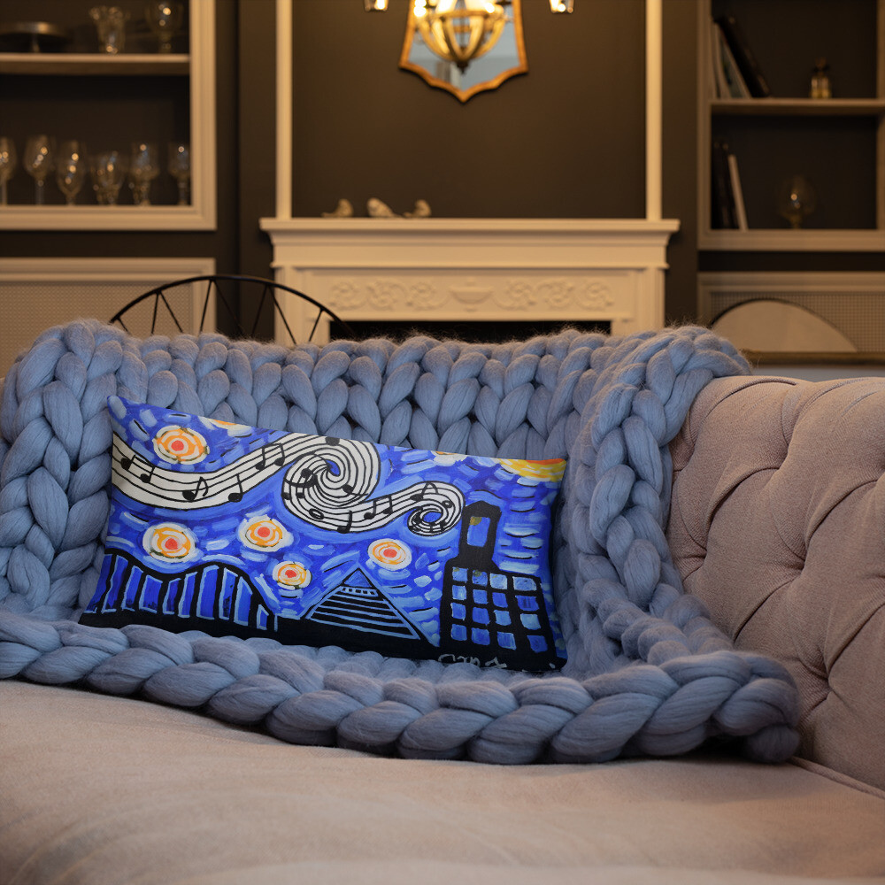 Memphis Nights Basic Pillow