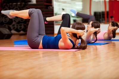 Floor Pilates and Fitball - Home Exercise Program