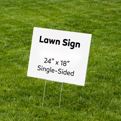 Lawn Signs 18