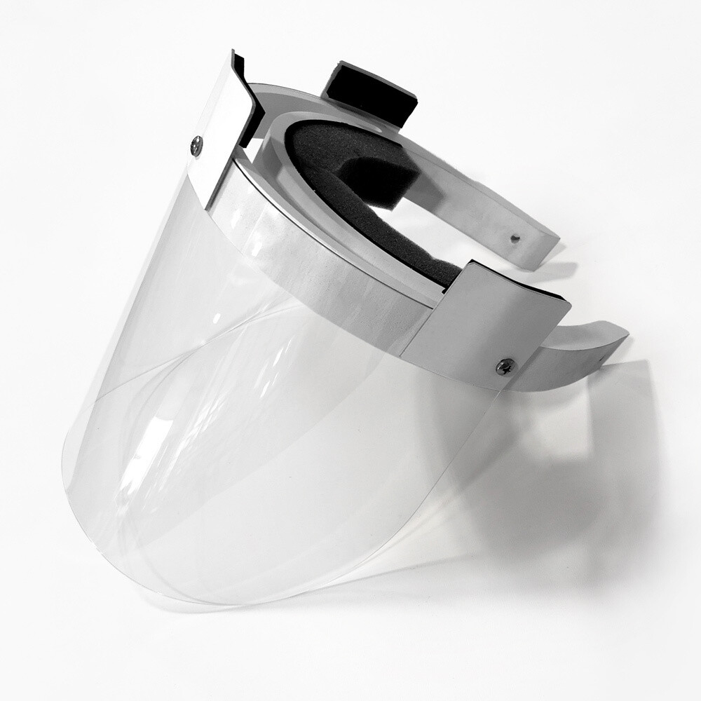 Modified 3D Face Shield to accommodate a Loop/Lite (12 PACK)