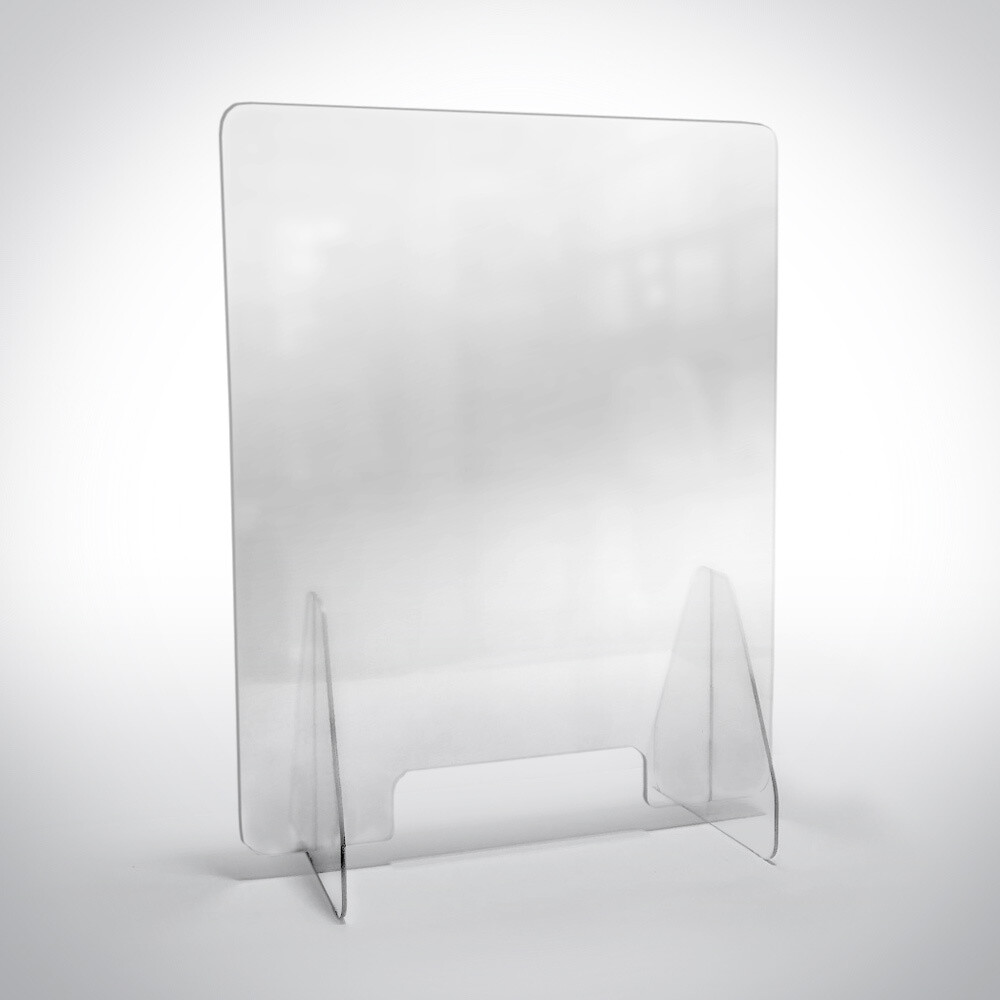 Counter Top Sneeze Guard - Various Sizes