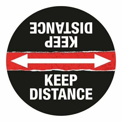 "18"" Keep Distance Circle (10 pack)"