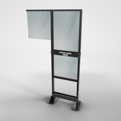 Bar Stand Portable Shield