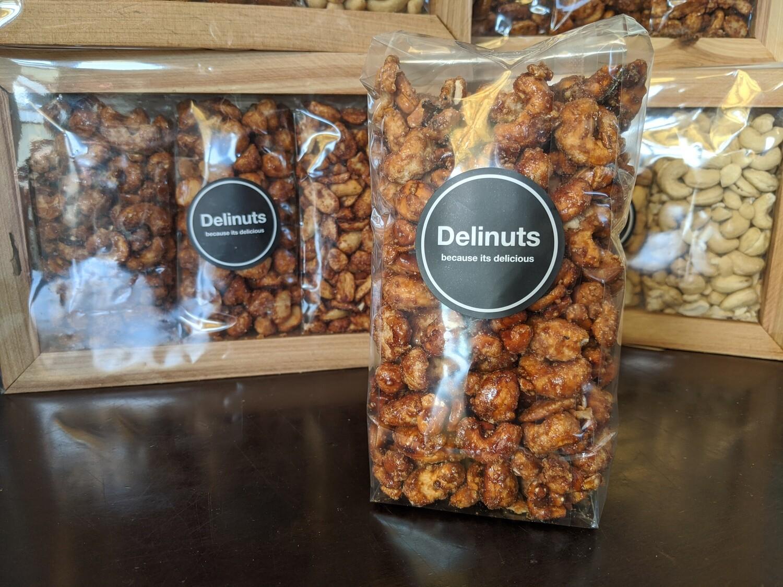Salty Caramel Cashews