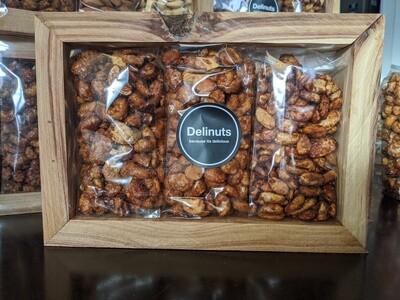 Wooden gift frame