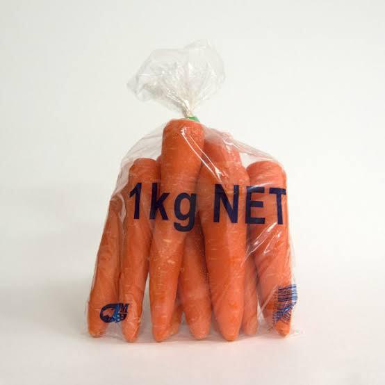 1kg Carrot Bags