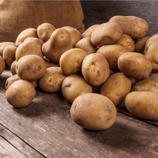 Brushed Potatoes