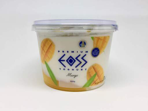 Eoss Greek Yoghurt Mango 500gr