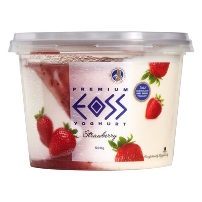 Eoss Greek Yoghurt Strawberry