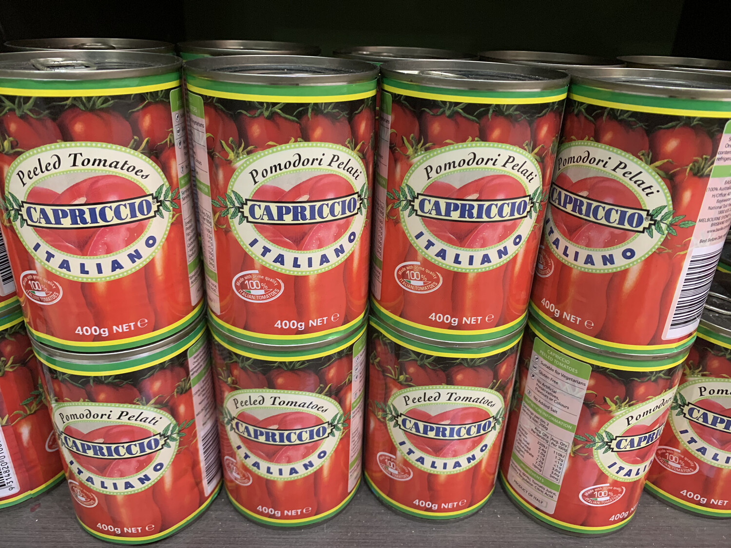 Canned Diced Tomato's