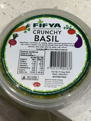Crunchy Basil