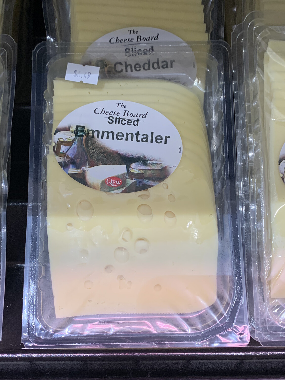 Cheese Sliced Emmentaler