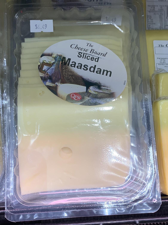 Sliced Maasdam