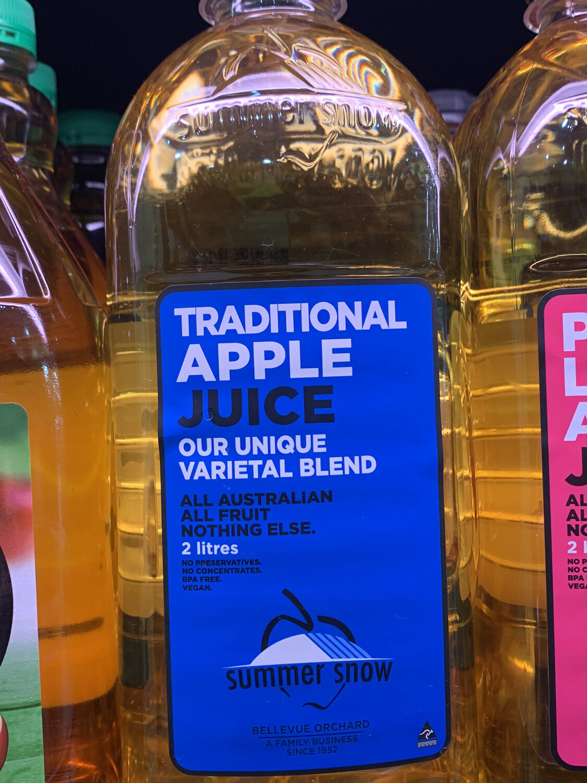 Traditional Apple Juice