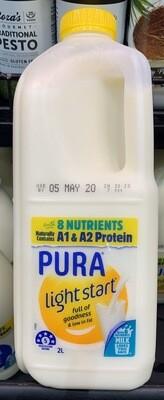 Pura 2L Light Start Milk