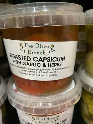 Roasted Capsicum