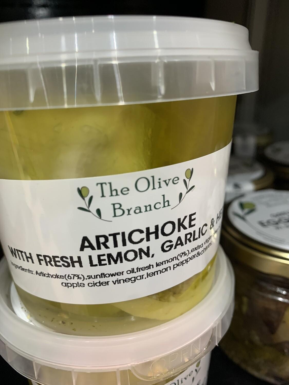 Artichoke w Fresh Lemon & Garlic