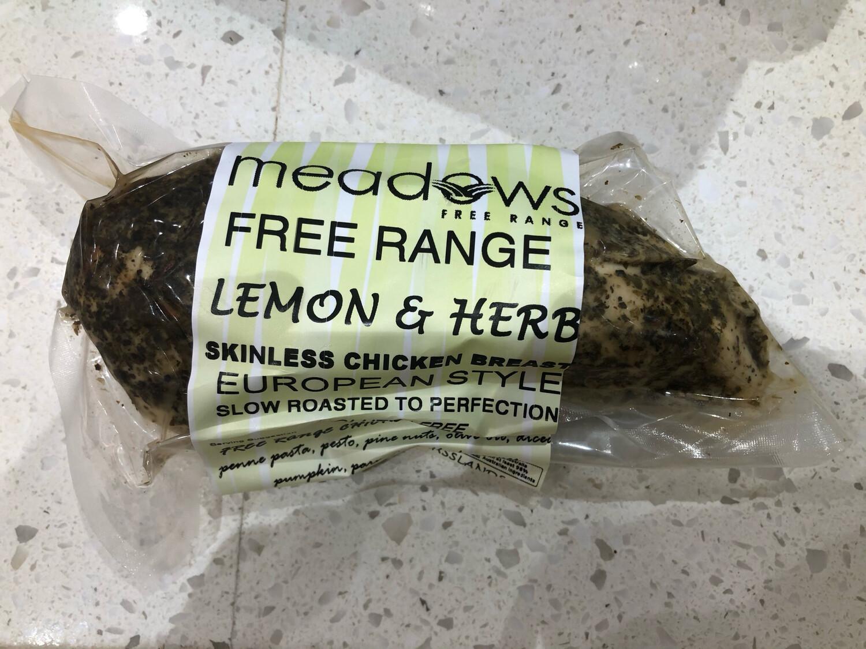 Free Range Lemon & Herb Skinless Chicken Breast