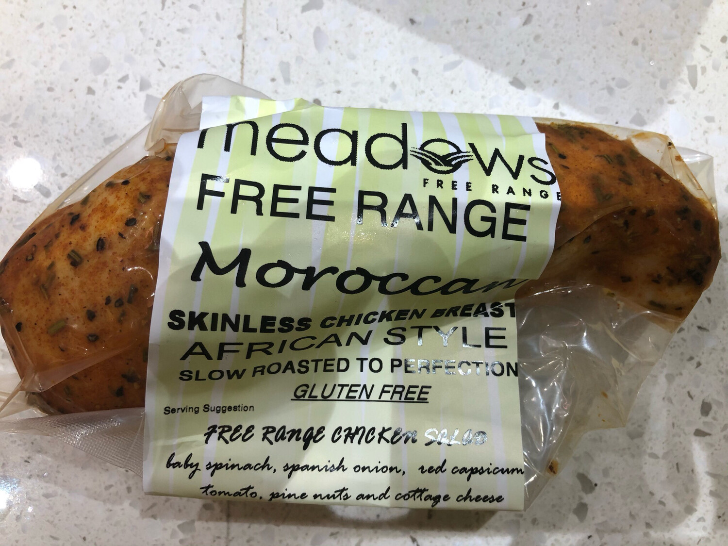 Free Range Moroccan Skinless Chicken Breast