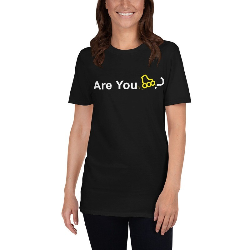 """Unisex """"Are You Inline Skater?"""" T-Shirt"""