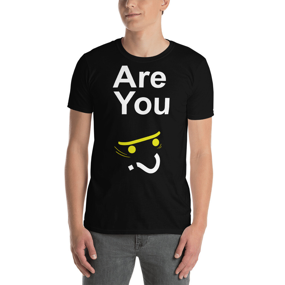 """Unisex """"Are You Skateboarder?"""" T-Shirt"""
