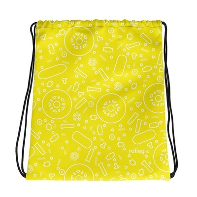Drawstring Bag Yellow