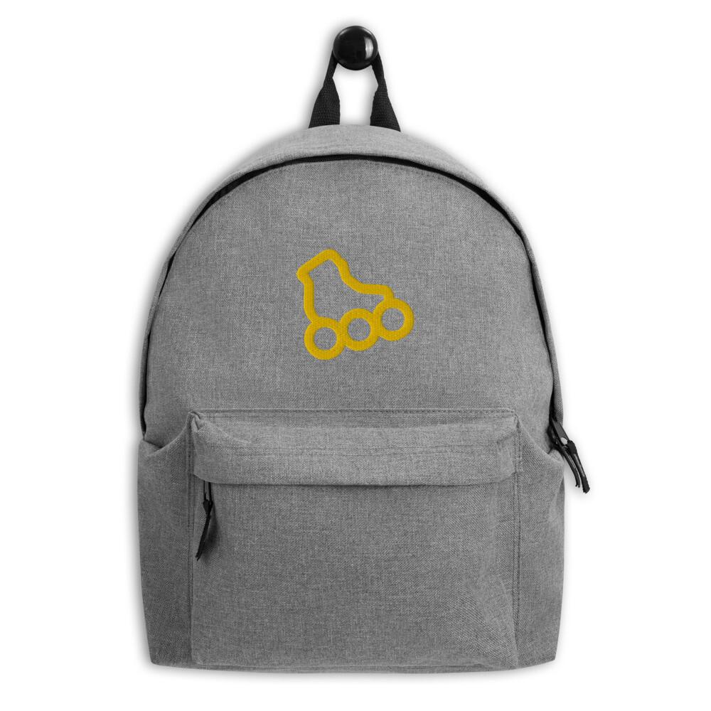 "Embroidered Backpack ""Inline Skating"""