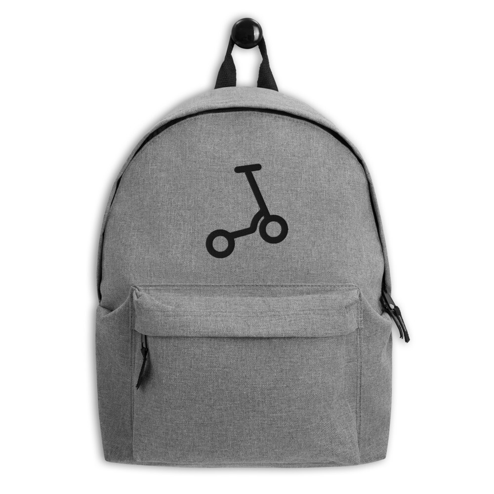 "Embroidered Backpack ""Scooter"""